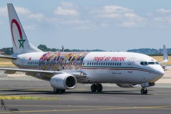 Royal Air Maroc / CN-RGF / Boeing 737-800 / LFPG-CDG taxiing / © (RVA Aviation Photography (Robin Van Acker)) Tags: planes trafic airlines avgeek airliner outdoor airplane aircraft vehicle jetliner jet jumbo air photography aviation aviationphotography paris charlesdegaulle special