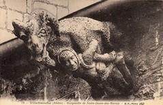 Villefranche (Rhône) (Cletus Awreetus) Tags: france villefranchesursaône rhône artreligieux sculpture gargouille