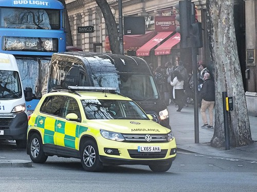 London Ambulance Service NHS Trust - LX65AHA
