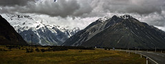 mount cook road 2a 2p explored (Bilderschreiber) Tags: mount cook road hermitage panorama mountains glacier gletscher berge alpen alps strase landschaft landscape neuseeland newzealand southisland südinsel