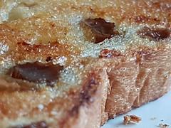 Fruit bread - Macro Monday (katy1279) Tags: breadmacromondaysfruitbreadbutter