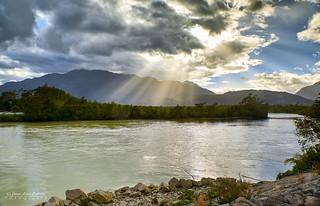 Confluencia del Río Tres Colores - P.N. Laguna de San Rafael (Patagonia Chile)