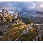 End of the day on the Gastlosen mountains thumbnail