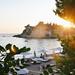 sun setting over Montenegro