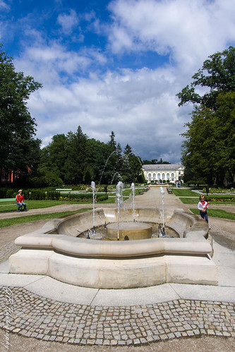 Spa Park in Jelenia góra - Cieplice Zdrój