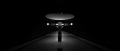 (Panda1339) Tags: metrostation lamps germany architecture nikondf 1424g westfriedhof munich sosman blackandwhite monochrome cinematic light shadow