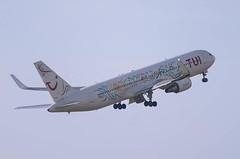 IMGP3339_HB-JJF_AMS (ClydeSights) Tags: boeing amsterdamschipholairport privatair 767316erw hbjjf tuiairlinesnederland b763 ams eham cn27613 boeing767300
