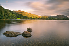 Grasmere in the Lake District at Sunrise (Andrew Hamilton.Photography) Tags: lake district ambleside grasmere rydal water dead pike ewe crag tarn helm walk hike ramble climb cumbria fell landscape countryside uk england scenic britain northwest stroll path woods trees mountain hill munroe wainwright national park unesco world heritage site green blue sky valley english woodland summer autumn sunrise dawn twilight