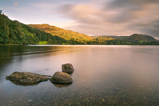 Grasmere in the Lake District at Sunrise