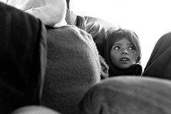 Iran. The little girl in the bus (Alain Rempfer) Tags: streetphotography candidphotography candidportrait candidsnapshot emotion face visage peopleinthestreet photoderue publicspace espacepublic scenederue scenedevie scenefromthestreet urban portraiture viequotidienne dailylife photographienonposée unposedphotography child enfant petitefille littlegirl noiretblanc bw blackandwhite argentique filmcamera pentaxspotmatic 50mm trix iran dezful susa shoushedaniel suse bus khuzistan ngc