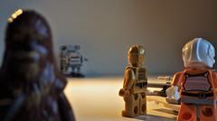 Ups! Wookie saw me (NoeTum) Tags: lego starwars pentax wookie