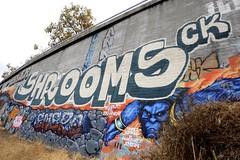 SHROOMS CK (STILSAYN) Tags: graffiti east bay area oakland california 2017 shrooms ck enero