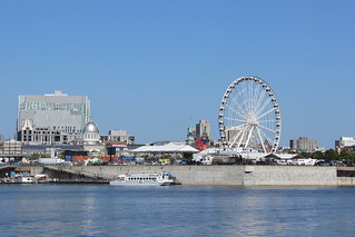 Montreal and its new Ferris Wheel