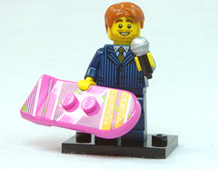 Brick Yourself Custom Lego Figure  Motivational Speaker with Hoverboard
