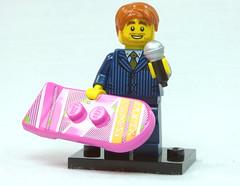 Brick Yourself Custom Lego Figure  Motivational Speaker with Hoverboard