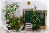 Old House in Castelo de Vide (Jocelyn777) Tags: textured flowers plants patio houses gardens doors villages towns alentejo casteldevide portugal travel