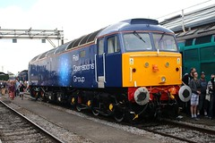 Rail Operations Group 47919 Old Oak Common 2nd September 2017  E1880 (focus- transport) Tags: trains old oak common open day classes 31 47 50 57 180 800 d british railways br oliver cromwell tornado colas gbfr gbrf gwr hst rail operations group railcar diesel steam great western railway high speed train gb freight