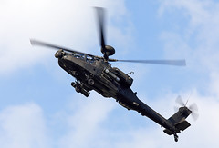 Apache (Bernie Condon) Tags: dunsfold wingswheels airshow surrey uk aviation aircraft flying display westland boeing wah64 apache helicopter attack assault armed aac army britisharmy gunship military warplane