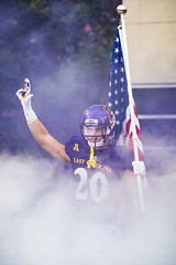 ECU Football '17 (R24KBerg Photos) Tags: ecu eastcarolina eastcarolinauniversity eastcarolinapirates ecupirates canon college collegesports football dowdyficklenstadium greenvillenc athletics americanathleticconference action ncaa nc 2017 flag pregame america patriotic usa entrance smoke starsandstripes redwhiteandblue pirates sports