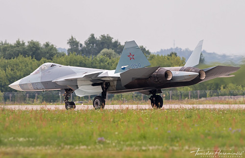 THAP00789 - Sukhoi T-50 Su-57 054 Russian Air Force