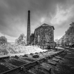 Winding Up - Explored (Photo Lab by Ross Farnham) Tags: middleton top derbyshire winding house ir 720 sony a7r abandoned ross farnham landscape