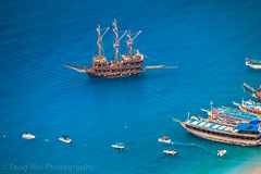 Cruise Ship @ Ölüdeniz Beach, Fethiye, Muğla, Turkey (Feng Wei Photography) Tags: turquoisecolored beach traveldestinations fethyie landscape scenics highangleview turkeymiddleeast landmark eastasia bluelagoon colorimage mediterraneansea tourism turquoisecoast sea famousplace mediterraneanturkey ölüdeniz ship oludeniz beautyinnature travel hike turkish lycianway outdoors euroasia turkishculture horizontal lycia muglaprovince fethiye muğla turkey tr