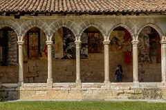 IMG_6160.jpg (Bri74) Tags: architecture cloister collegialedesaintemilion column entredeuxmers france monastery saintemilion