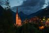 Sankt Vinzenz (martin.matte) Tags: grosglockner austria österreich landscape mountains village heiligenblut alps alpen evening night hohetauern hochalpenstrase bluehour