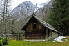 Hut 1 (LBM0) Tags: woodenhut wood alpinehut snowedmountains slovene