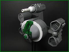 Pugdog Class Gunship (Karf Oohlu) Tags: lego moc scifi starfighter spaceship