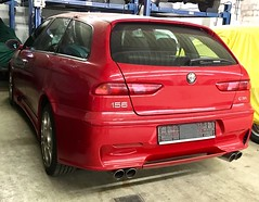 Alfa Romeo 156 GTA 3.2 V6 Sportwagon  | 2002-2005 (Transaxle (alias Toprope)) Tags: 50v5f v6 sportwagon gta 156 alfaromeo alfa romeo 32liter 2002 2003 2004 2005 ar arese busso italiano italian italiane italiani italiana italia italy milano super sport soul beauty power toprope tipo932 walter desilva walterdesilva centrostile theface thelook italcar red rosso rojo rouge reddish cor vermelha coches cars 5faveswithinlessthan100views السيارات 車 autos
