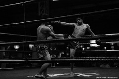 Thailand BW IMG_9150 (Swebbatron) Tags: asia southeastasia chiangmai city road travel lonelyplanet lifeofswebb 2015 canon 1100d 1018mm radlab gettotallyrad thailand blackandwhite mono street streetphotography nightmarket muaythai boxer boxing fight fighter loikrohroad loikrohboxingstadium
