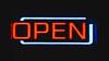 cartel-open (Valua Travel) Tags: cartel open bar neón horizontal nadie