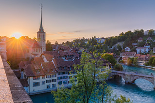 Sunset @ Bern