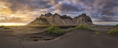 Path to somewhere extraordinary (Perez Alonso Photography) Tags: sunset mountains beach sea desert dune green fjords iceland stokksnes sun landscapes