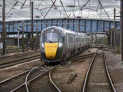 800004 (Geoff Griffiths Doncaster) Tags: 800004 iep azuma gwr great western inter city express passenger train doncaster