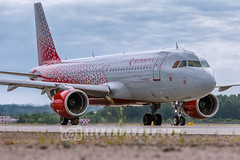 Airbus A320 of Rossiya airlines at Pulkovo airport (The best from aviation) Tags: pulkovo aircraft avia canon airjet led air instagram ulli spotting sotters plane jet spot planes airplane planespotting