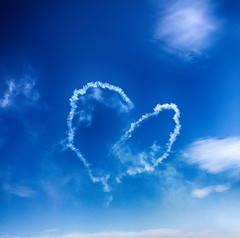 Message in the sky (delphine imbert) Tags: ciel avignon air show meeting aviation avion nuage