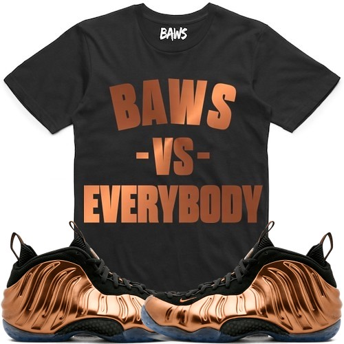 7e0951e47437c sneaker t-shirts Copper Foamposites Foams matching (XGEAR101) Tags  copper  foam foams