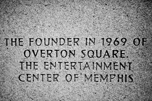 The Founder in 1969 of Overton Square, The Entertainment Center of Memphis