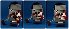 04 (manufacturajarema@wp.pl) Tags: lego zombie brickheadz brain
