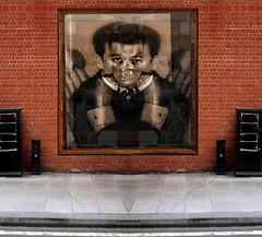 The Eternal Listener  (tamed) (brancusi7) Tags: theeternallistenertamed bizarre absurd dadapop surveillance popsurrealism paranoia brancusi7 johnseven jung joker kitschculture loneclownofthepharmaceuticalplain mythology neodada odd oneiric obsession popkitsch popart phantomsoftheid popculture random xray