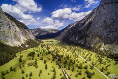 Tyrolean Alps (Danijel Jovanovic Photography) Tags: karwendel ahornboden alpen alps drone yuneec nature aerial landscape mountains tyrol tirol austria