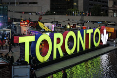 Nuit Blanche 2017 (Marcanadian) Tags: toronto ontario canada downtown art fall autumn nuit blanche 2017 festival installation street night sunset sunrise nathan phillips square city hall century revolutions