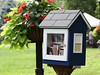 It's the little things...  like books in unexpected places (Kerri Lee Smith) Tags: itsthelittlethings books libraries littlefreelibrary parks summer