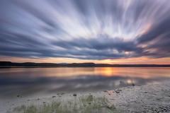 Lever du jour sur la rivière Saguenay du 02-08-2017 (gaudreaultnormand) Tags: canada été frais leverdesoleil lumière quebec saguenay sunrise eau ciel paysage plage longueexposition longexposure canonflickraward