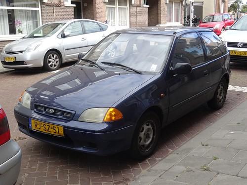 1997 Subaru Justy