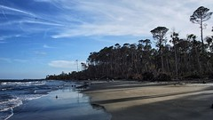 Late afternoon on Hunting Island Beach in South Carolina. (sphaisell) Tags: instagram ifttt