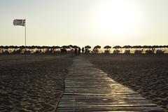 Falasarna (lorenzog.) Tags: falassarna beach beachlife beachumbrella lightbeams chania crete greece people silhouette nikon d700 holiday trip travel ilobsterit phalassarna falasarna phalasarna hriti