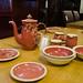 Pottery tea set E20